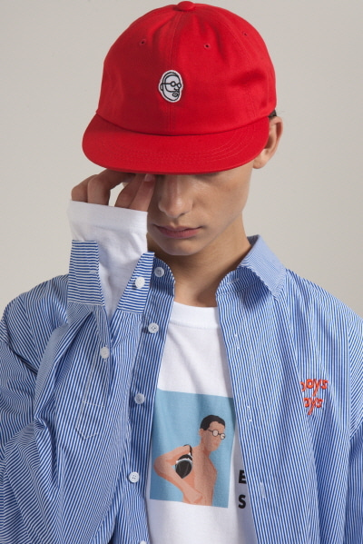 ENZO WAPPEN CAP (RED)