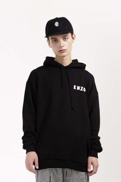 ENZO GLASSES HOODY (BLACK)