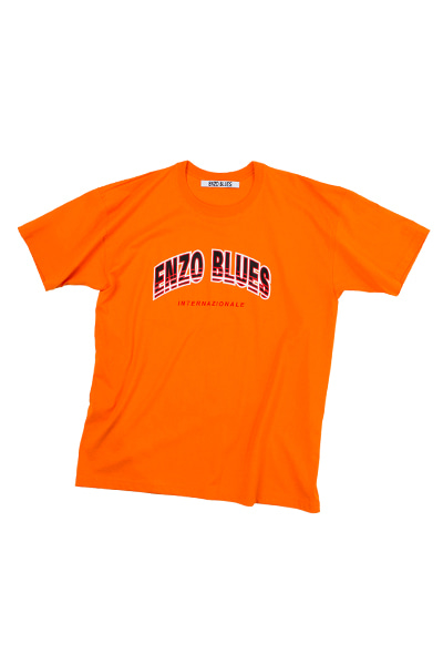 ARCH LOGO T-SHIRT (ORANGE)